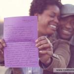 Vintage Love Letters Themed Engagement | Nikki & Emmanuel
