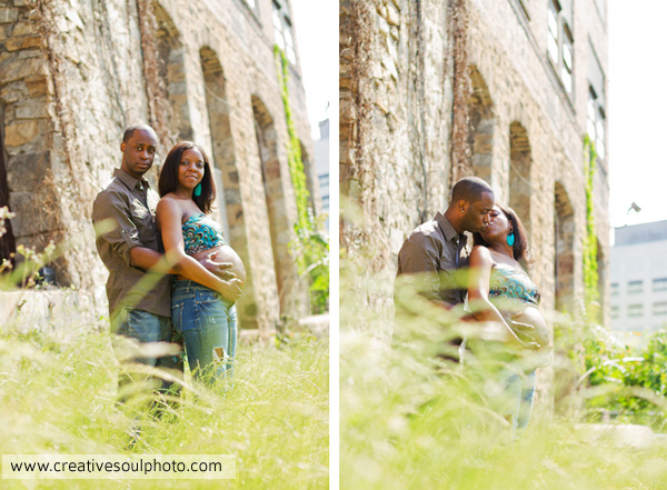Atlanta Urban Maternity Session | Ousley Family