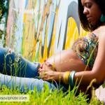 Atlanta Urban Maternity Photographer | Ousley Family