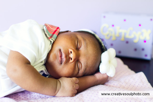 Atlanta Newborn Photographer | Caitlyn