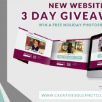 New Website + Holiday Photoshoot Giveaway