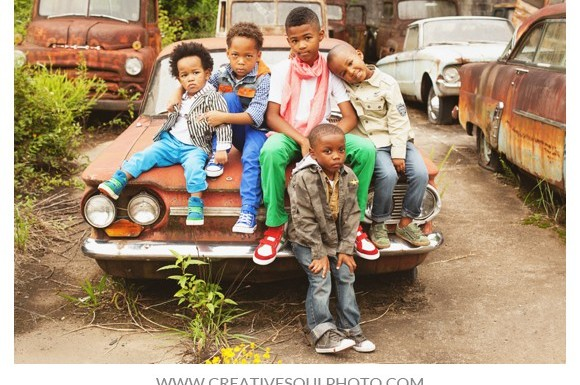 African-American Boys Photo Shoot