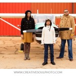 Aviation Themed Family Shoot | Ferebee Family 2013