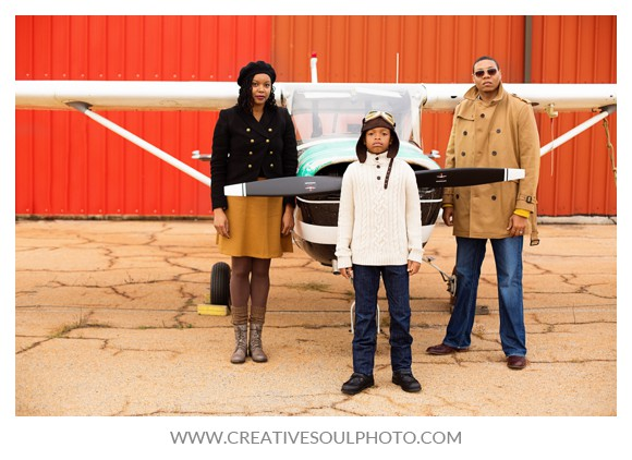 Aviation Themed Shoot