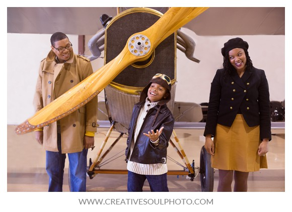 Aviation Themed Family Shoot